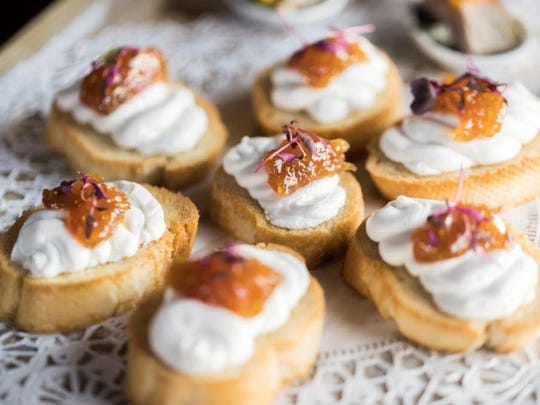 These delicious treats were served at a recent 70th birthday bash at the Fish House.