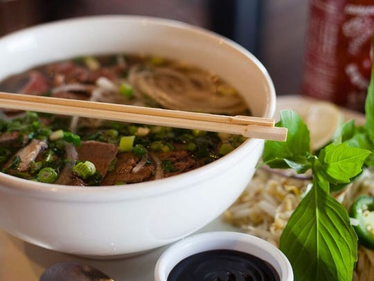 A bowl of pho at Young's Cafe in Fort Collins. The
