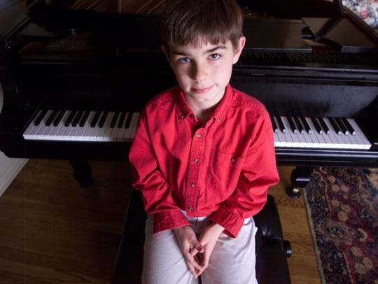 A March 2003 photo of a 9-year-old Drew Petersen. He