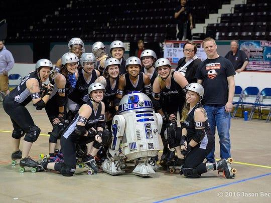 Star Wars Night with the Cincinnati Rollergirls.
