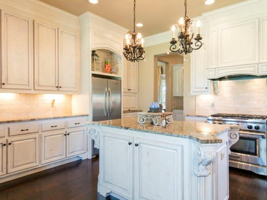 The sparkling kitchen is a chef's dream.