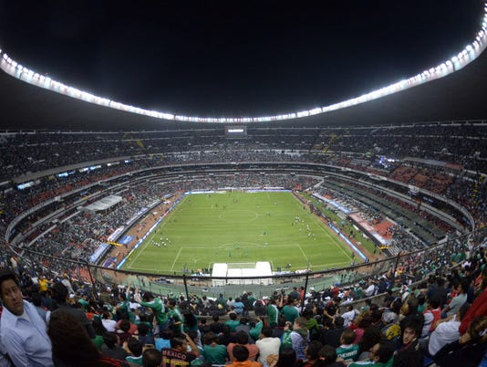 USP SOCCER: WORLD CUP QUALIFIER-USA AT MEXICO S SOC MEX TL