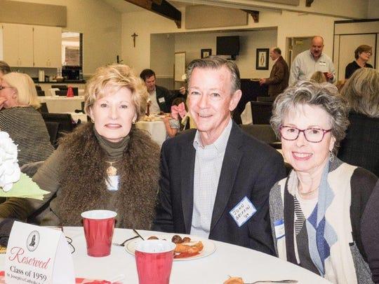 CoCo  Garrett, John and Janice Griffin, of Houston,