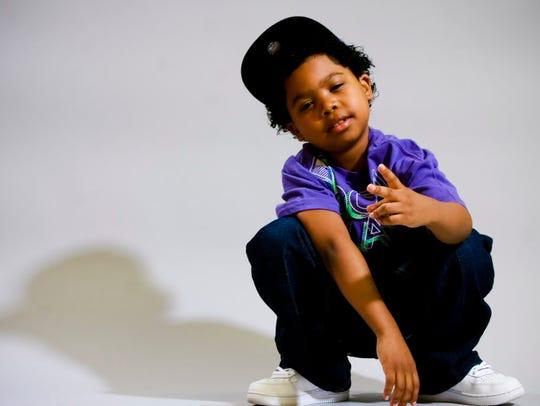 Benjamin Flores Jr. made an unusually adorable rapper