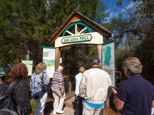 A free nature tour of Arcadia Mill in Pace is set for