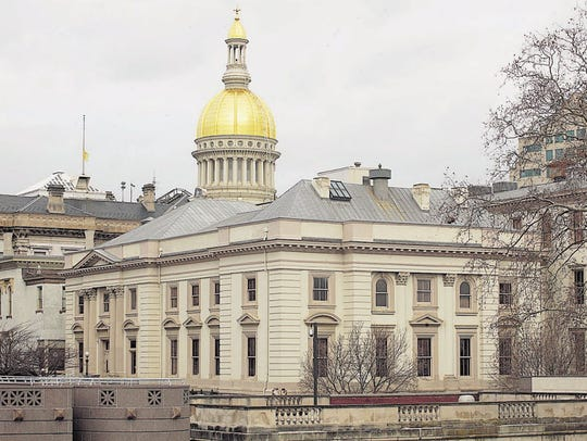 The New Jersey State House.