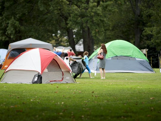 Campers prepare for the Clifton recreation annual family