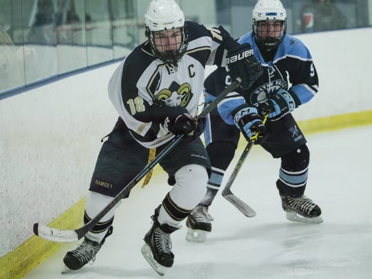 From 2015: Alex Whelan back in his ice hockey playing days at Ramsey.