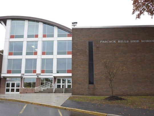 Pascack Hills High School in Montvale.