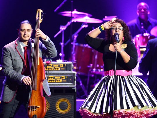 La Santa Cecilia headlines Mexican Fiesta Friday.