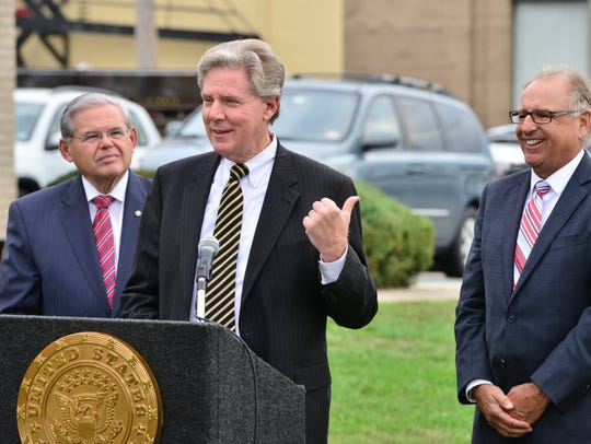 U.S. Rep. Frank Pallone, D-Monmouth, appeared at a