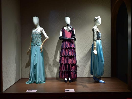 Costumes worn by 'Downton Abbey' characters will be