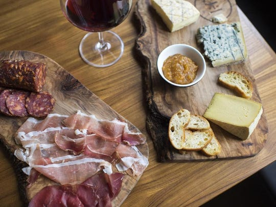 Cheese and charcuterie from Jockey Hollow Bar & Kitchen.