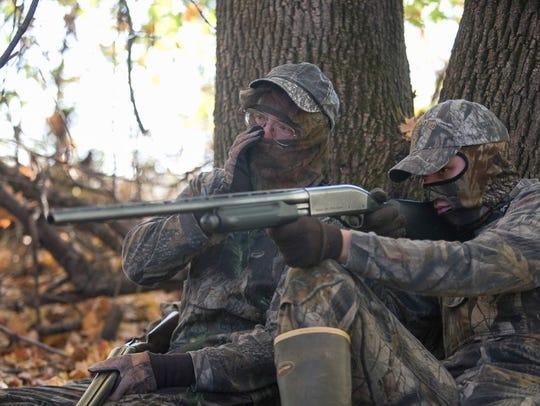 Fall turkey hunters ready to get a Thanksgiving bird