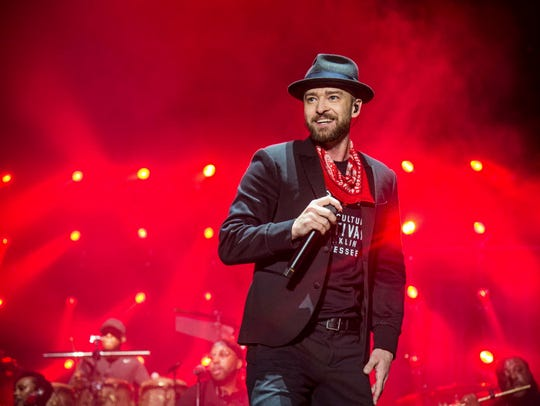 Justin Timberlake performs his first Milwaukee show in 15 years Sept. 21 at the new Bucks arena.