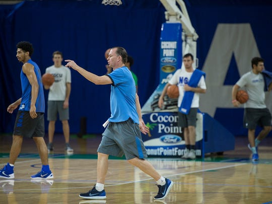 Fifth-year FGCU coach Joe Dooley is pointing the loaded Eagles toward what they believe could be a huge season.