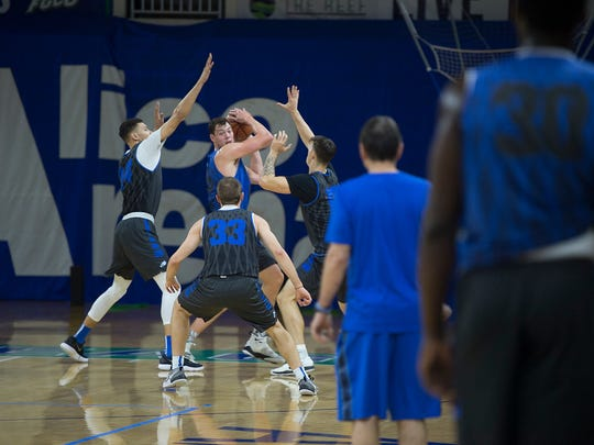 Junior Ricky Doyle, a 6-10, 243-pounder who is eligible after his transfer from Michigan, should pay huge dividends for FGCU this season. He's finally healthy.