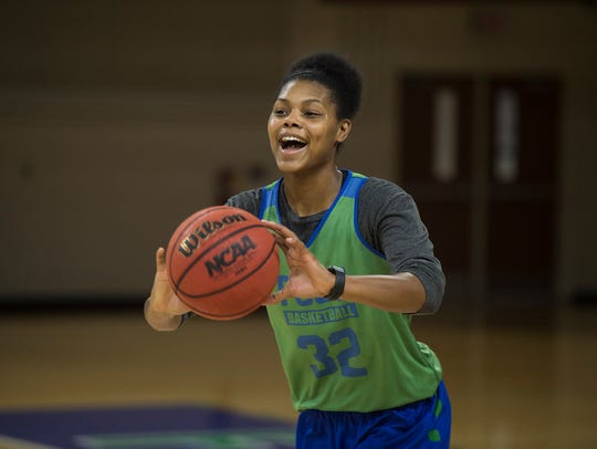 FGCU junior forward Rosemarie Julien is the ASUN Preseason