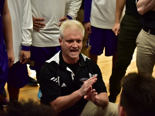 Jay Mahoney enters his 39th season as Bogota boys' basketball coach with 629 career wins.
