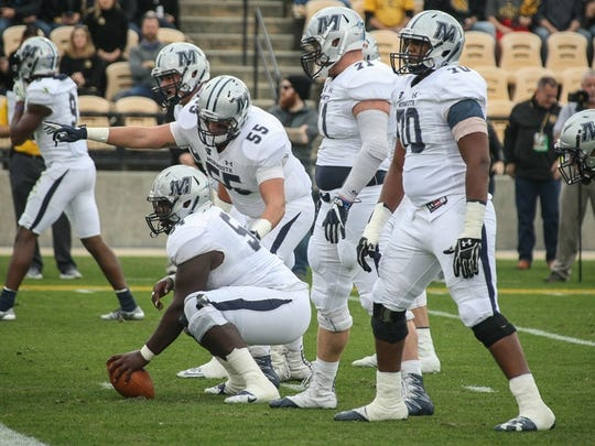 Monmouth's veteran offensive line will be a key for