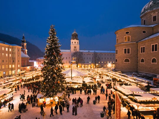 Christmas markets are must-do attractions in Austria.