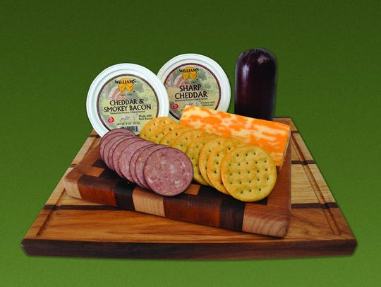 Williams Cheese in Linwood offers cheese gift selections.