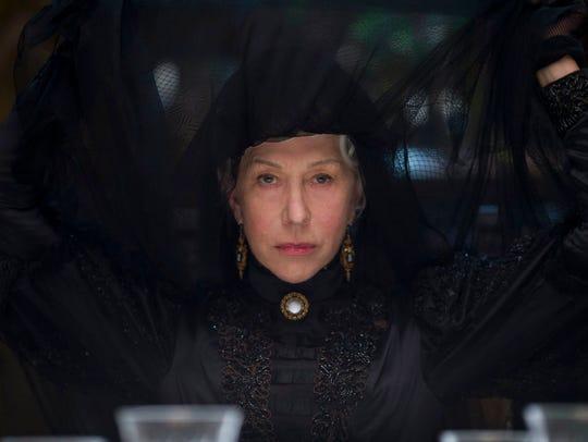 """Helen Mirren stars in """"Winchester."""" Mirren says her"""