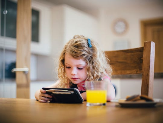 For all ages, screen time should end at least one hour
