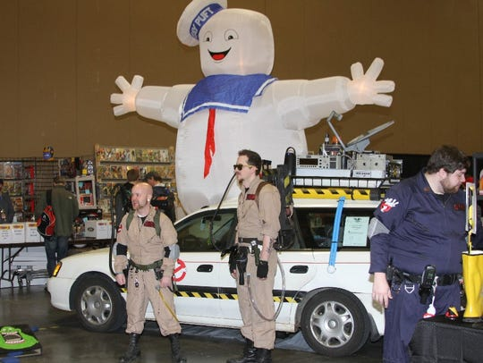 The Ghostbuster Coalition will be equipped with proton
