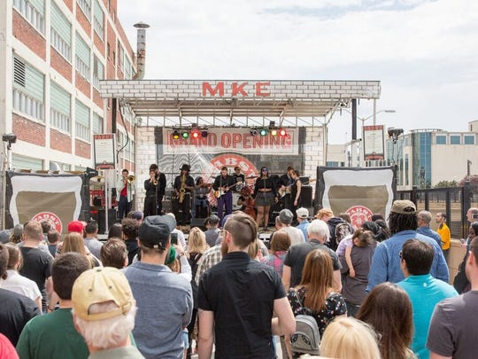 Last year Pabst Milwaukee Brewery and Taproom hosted its own street party. This year all its neighbors in The Brewery District are celebrating with Fruhling Fest.