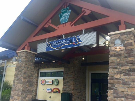 The Bowmansville Service Plaza offers food and drink options from Burger King, Starbucks, Hershey's Ice Cream and Keystone Roadside BBQ.