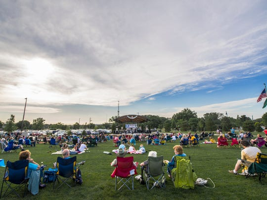 The Brews & Bites concert series runs from 6 to 8:30