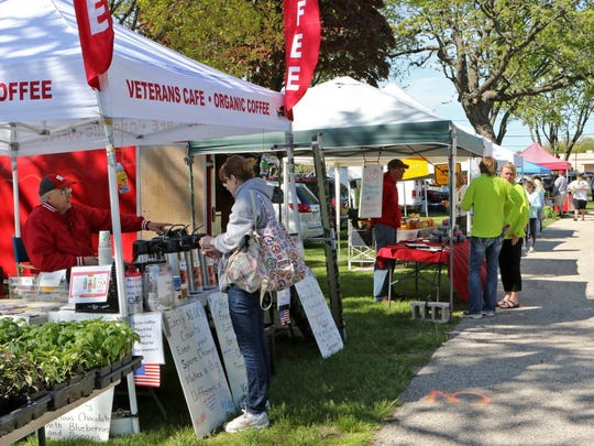 The Mukwonago Farmers Market is from 2 to 6 p.m. Wednesdays at Field Park