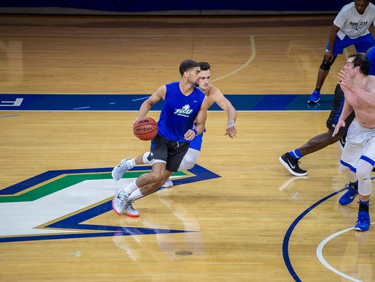 "FGCU coach Michael Fly said Haanif Cheatham is perhaps the ""most versatile guard"" in Eagles history."
