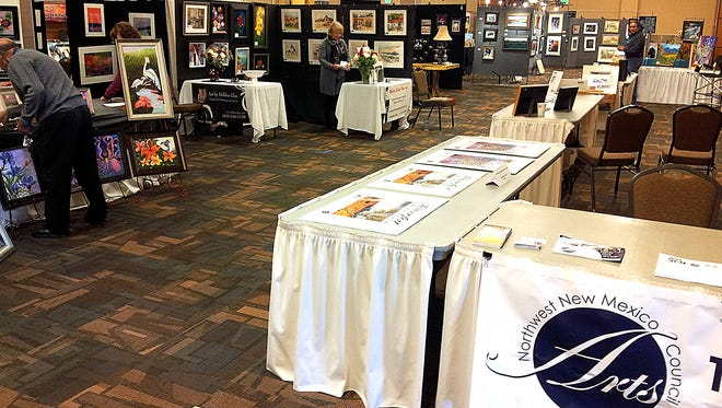 The first 'Art 350' invitational and sale was held last year at the Farmington Civic Center. The event returns to the center this weekend.