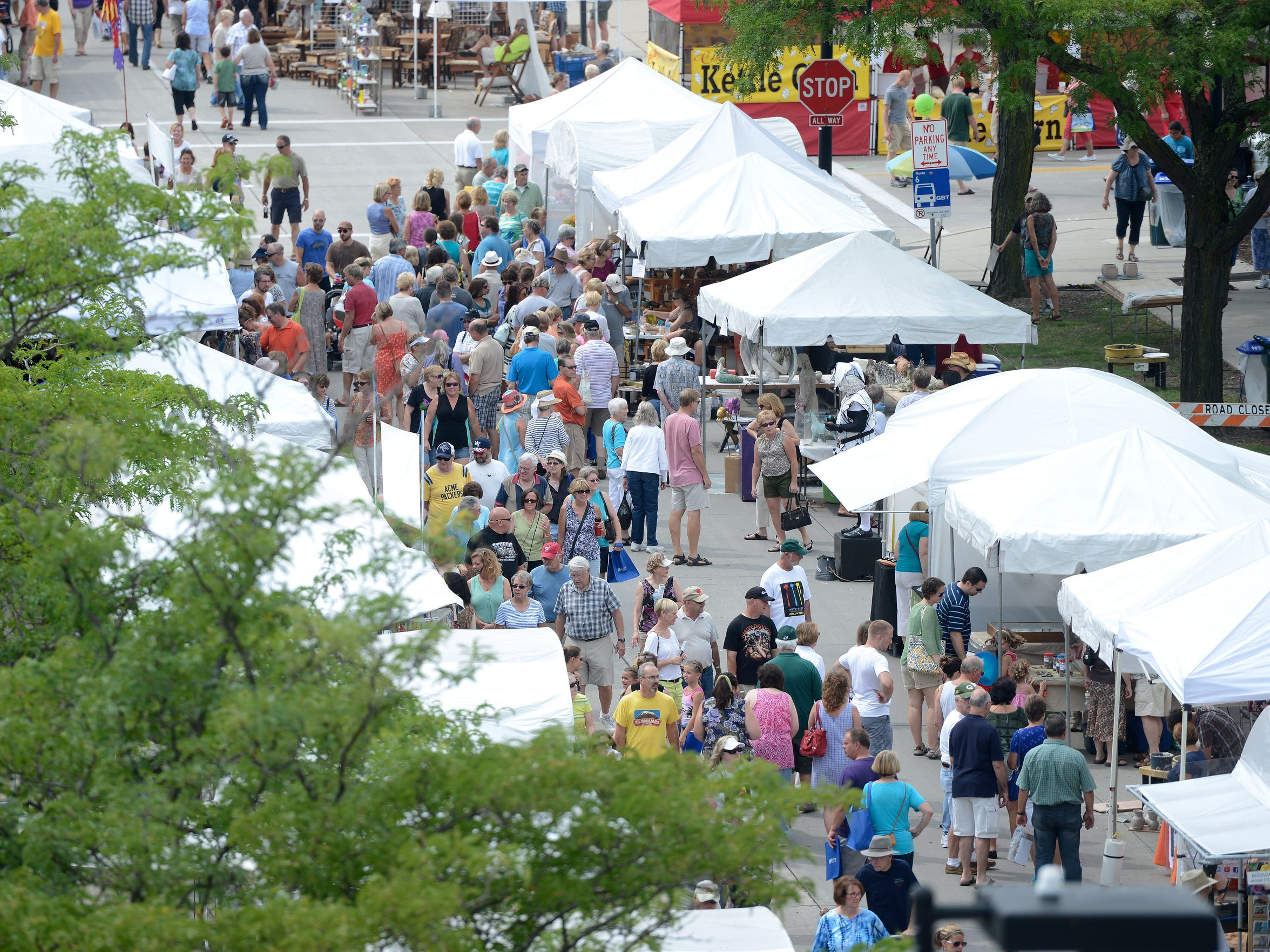 Artstreet will pack downtown Green Bay Aug. 28-30.
