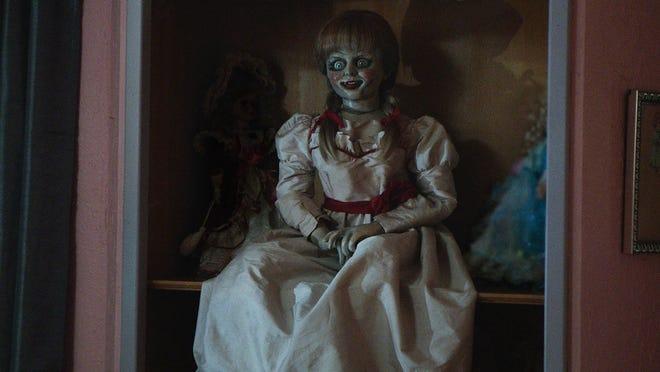 """""""Annabelle"""" contains a malevolent spirit."""