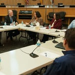 Discussion continues during the second Behavioral Health Forum Nov. 22 at the Doña Ana County Government Center. The forum was hosed by County Commissioner Wayne Hancock and newly elected Las Cruces City Councilor Jack Eakman.