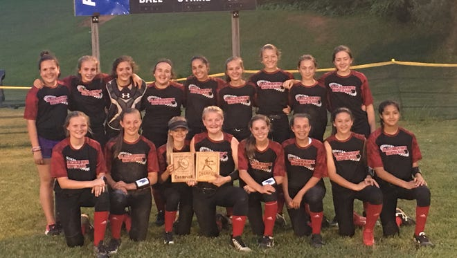 North Buncombe Middle School's softball team won both the French Broad Conference regular-season and tournament championships this past season.