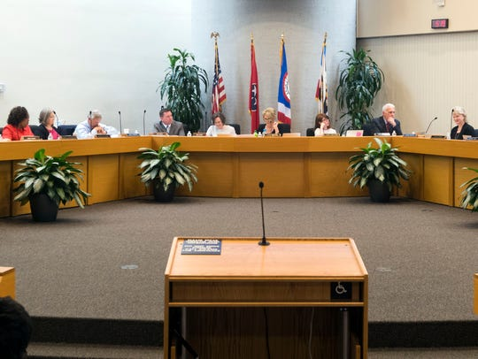 The Knox County School Board voted unanimously to postpone