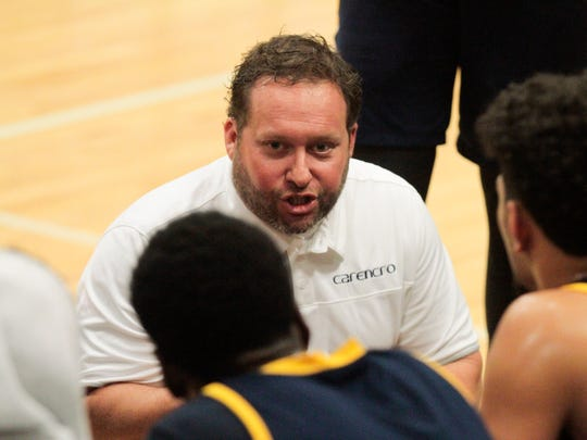 Carencro coach Christopher Kovatch led his Golden Bears to an 82-72 win over Opelousas in the District 4-4A opener.