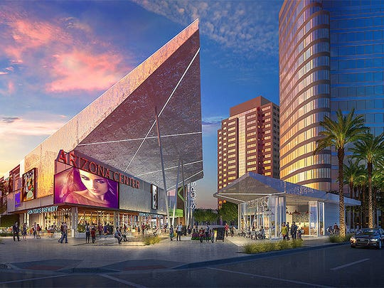 A major renovation is planned for the Arizona Center, which covers two downtown Phoenix blocks and includes retail space and office towers.