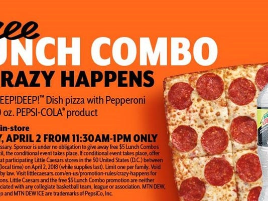 Little Caesars promotion