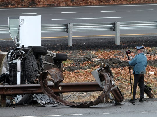 Fatal One Vehicle Crash On Garden State Parkway