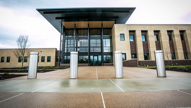 The new Murfreesboro Police Headquarters is at 1004 N. Highland Ave.