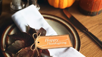 In this season of Thanksgiving, we asked our readers: What makes you grateful?