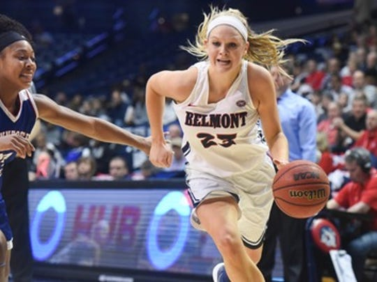 Kylee Smith was named the OVC Player of the Week on Monday after helping the Bruins finish the regular season with a win over Tennessee State at Curb Event Center.