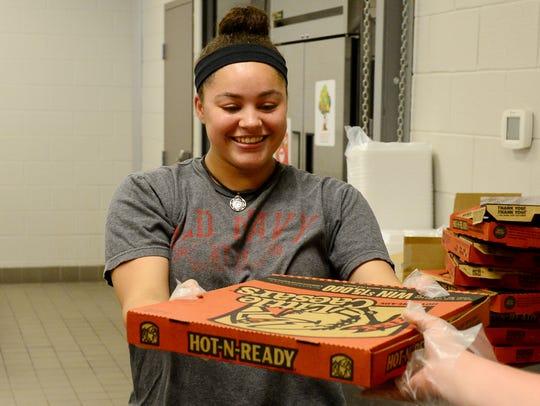 Trenton-Peabody High School sophomore Caliah Anderson