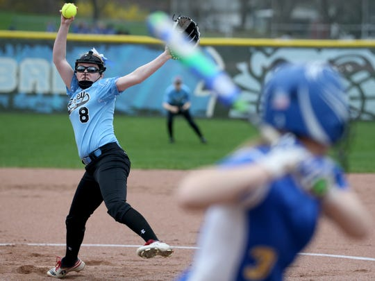 Bishop Kearney sophomore pitcher Emily Phelan will try to lead the Kings to a second straight sectional crown. The defending Class C state champions are up in Class B now and top-seeded.