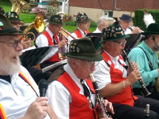 The German Band plays every August at the Shippensburg